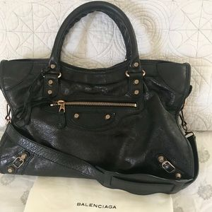 Balenciaga Rose Gold 12 Giant City